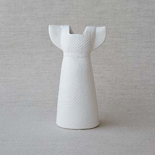 Vases Dress white