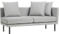 SALSA SOFA SINGLE ARM (Left)
