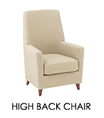 �y�ʐ^�zHIGH BACK CHAIR