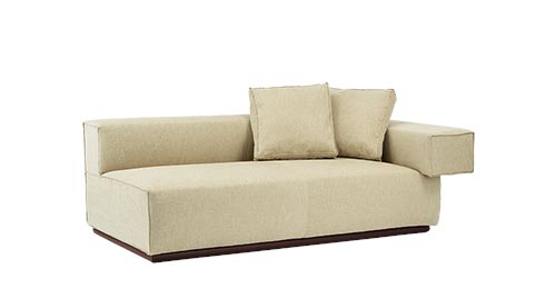 BASSET SOFA SINGLE ARM