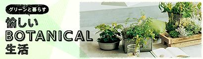 グリーンと暮らす 愉しいBOTANICAL生活 特集ページはこちら