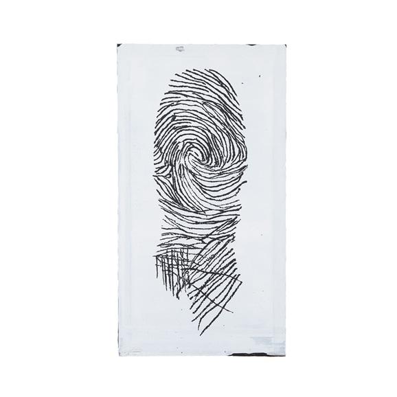 【写真】【一点物】舞木和哉 「Tragedy of Mr. Finger Print -Where is he now?-」