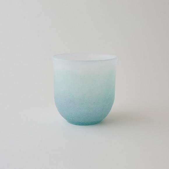 【写真】奥田康夫 丸杯-緑-