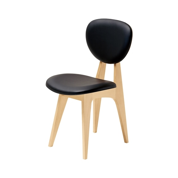 【写真】DINING CHAIR Black