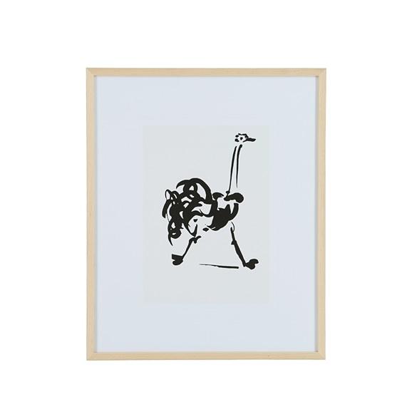 【写真】【定番品】パブロ・ピカソ 「ダチョウ」