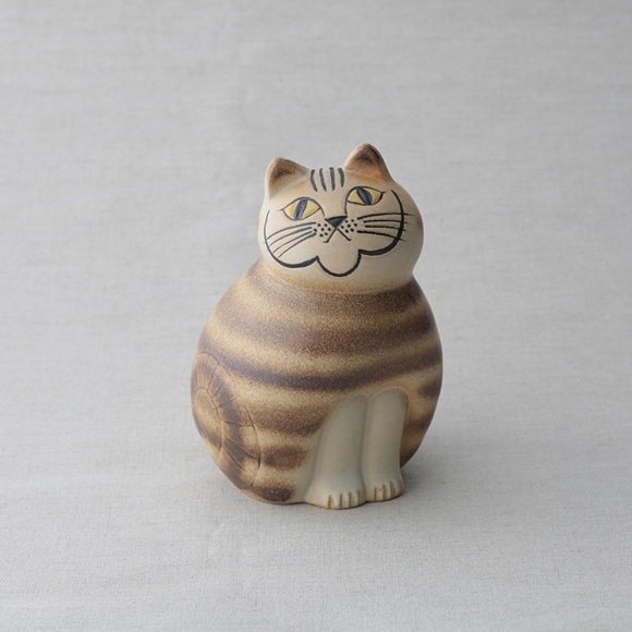 【写真】【定番品】Lisa Larson Cat MIA Brown medium