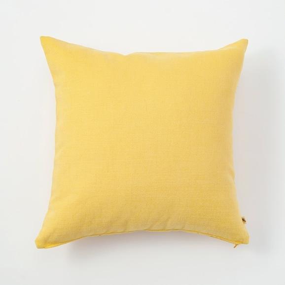 【写真】IDEE CALEIDO クッションカバー 45cm角 Mustard