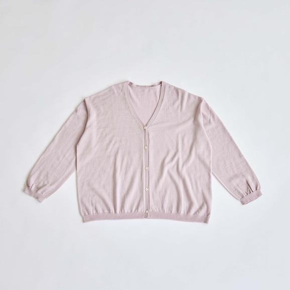 【写真】H& by POOL Wool Cardigan Pale Pink 2021AW