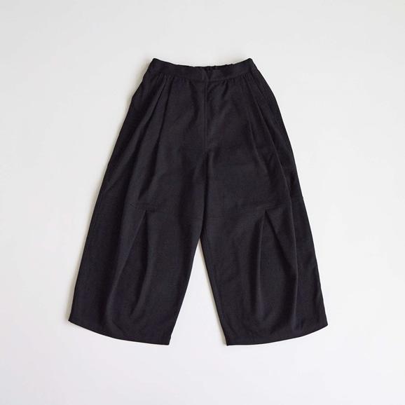 【写真】H& by POOL Wide Pants Black 2021AW