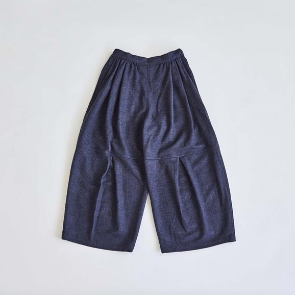 【写真】H& by POOL Wide Pants Navy 2021AW