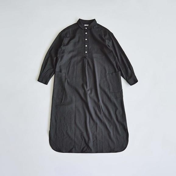 【写真】H& by POOL One-Piece Shirt Black 2021AW