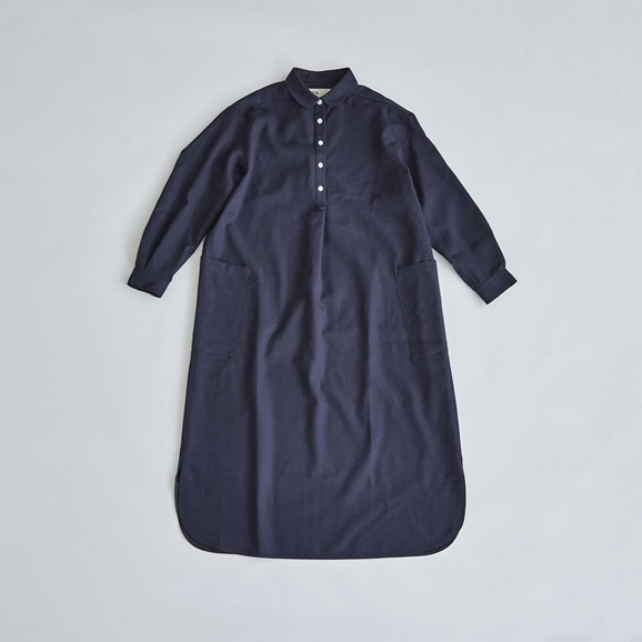 【写真】H& by POOL One-Piece Shirt Navy 2021AW