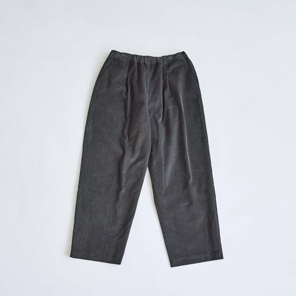 【写真】H& by POOL Corduroy Pants Charcoal 2021AW