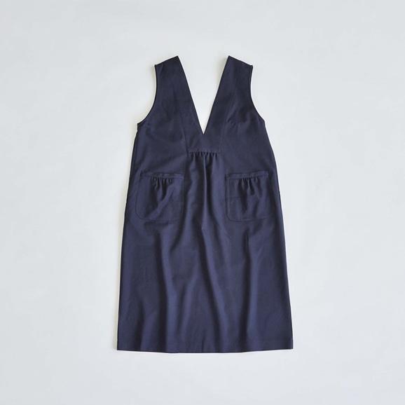 【写真】H& by POOL Apron Dress Navy 2021AW