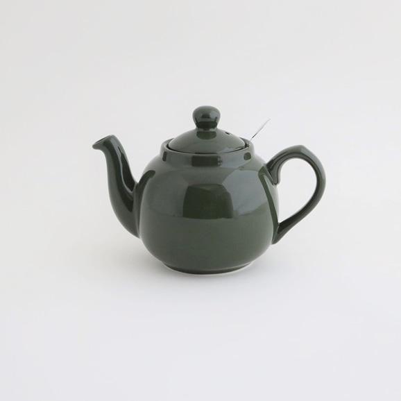 【写真】LONDON POTTERY ティーポット 2カップ用 550ml グリーン