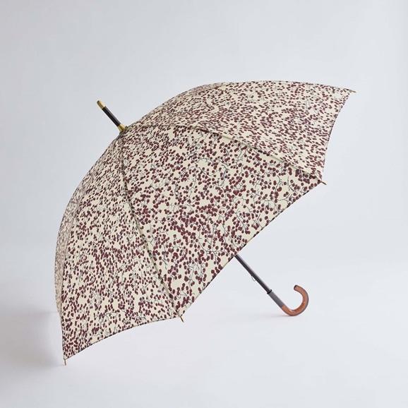 【写真】イイダ傘店 晴雨兼用傘 コショウ ベージュ 55cm