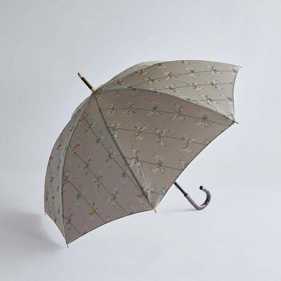 【写真】イイダ傘店 晴雨兼用傘 木馬 昼 55cm
