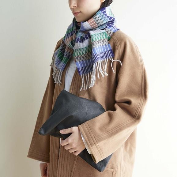 【写真】WALLACE&SEWELL スカーフ Tokyo Denim
