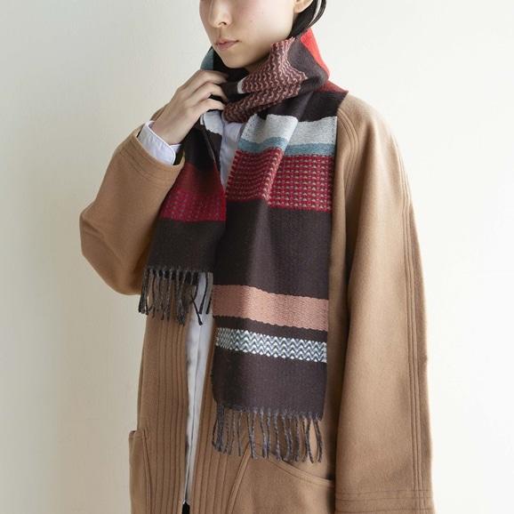 【写真】WALLACE&SEWELL スカーフ Osaka Black