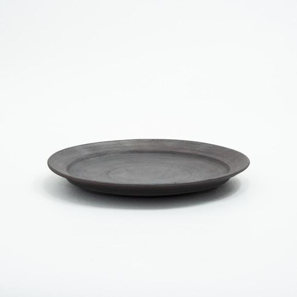 【写真】二階堂明弘 錆器 リム皿