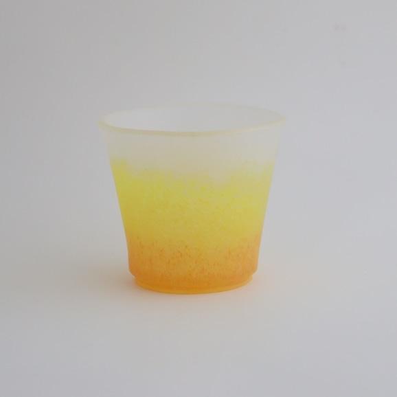 【写真】奥田康夫 色杯 -黄-