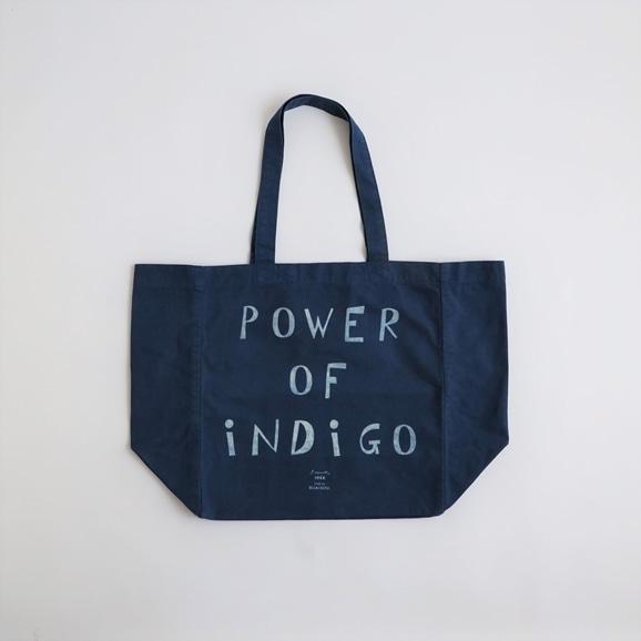 【写真】POWER OF INDIGO 2WAYトートバッグ Indigo