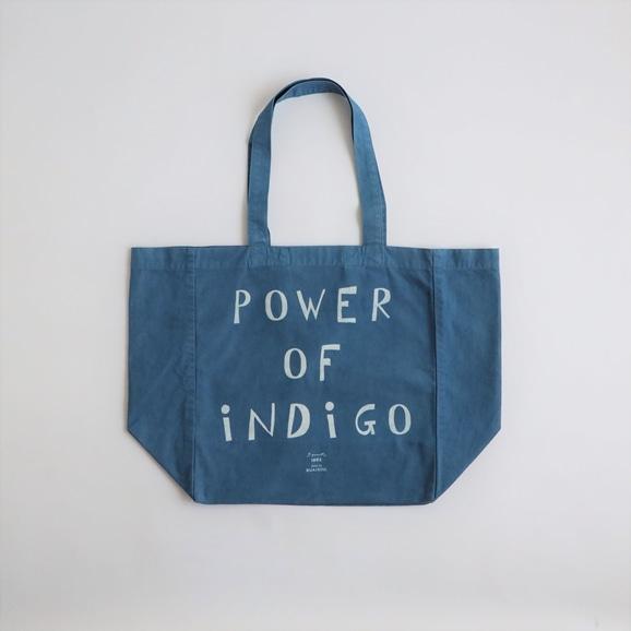 【写真】POWER OF INDIGO 2WAYトートバッグ Light Indigo