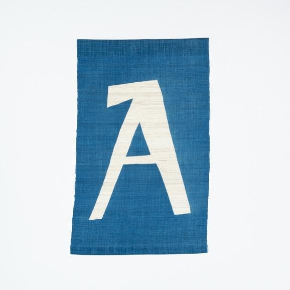 【写真】【受注生産品】POWER OF INDIGO 暖簾「A」