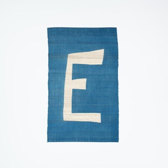 【写真】【受注生産品】POWER OF INDIGO 暖簾「E」