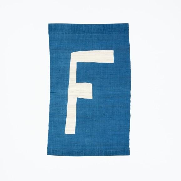 【写真】【受注生産品】POWER OF INDIGO 暖簾「F」