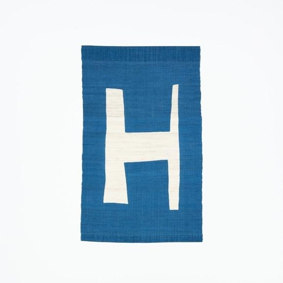 【写真】【受注生産品】POWER OF INDIGO 暖簾「H」