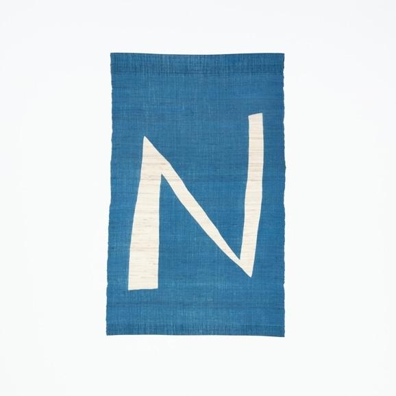 【写真】【受注生産品】POWER OF INDIGO 暖簾「N」
