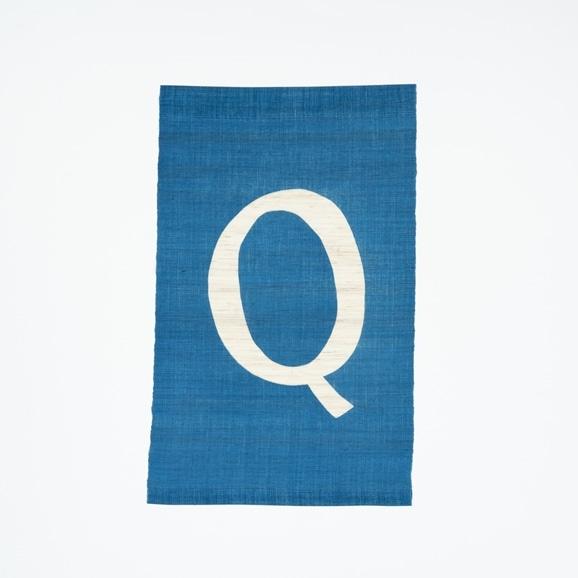 【写真】【受注生産品】POWER OF INDIGO 暖簾「Q」