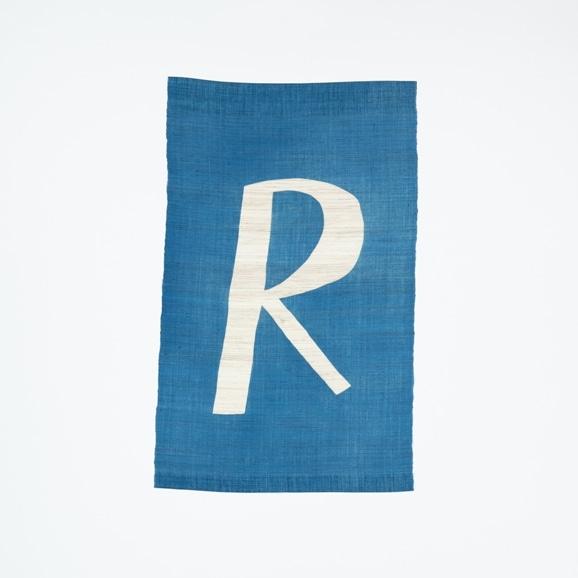 【写真】【受注生産品】POWER OF INDIGO 暖簾「R」