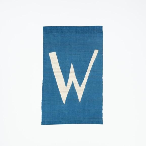 【写真】【受注生産品】POWER OF INDIGO 暖簾「W」