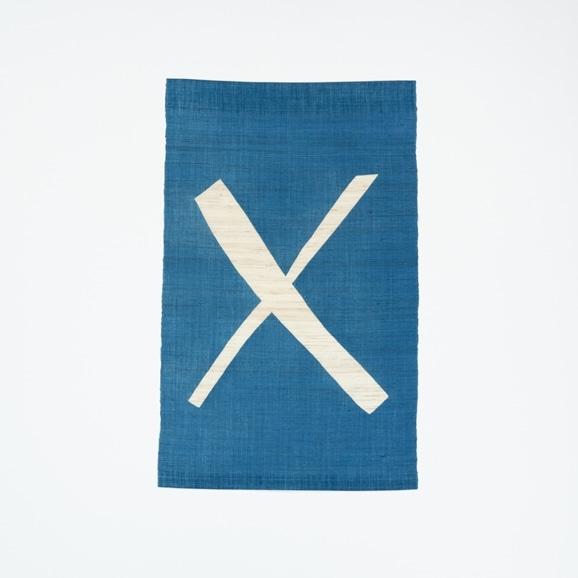 【写真】【受注生産品】POWER OF INDIGO 暖簾「X」