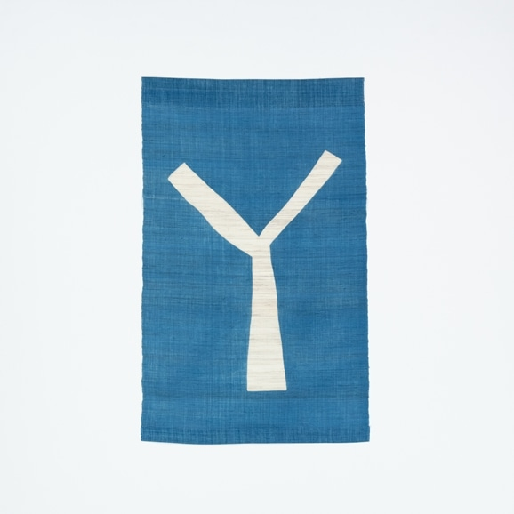 【写真】【受注生産品】POWER OF INDIGO 暖簾「Y」