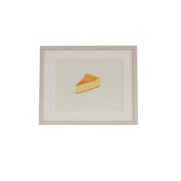 【写真】彦坂木版工房「チーズケーキ」