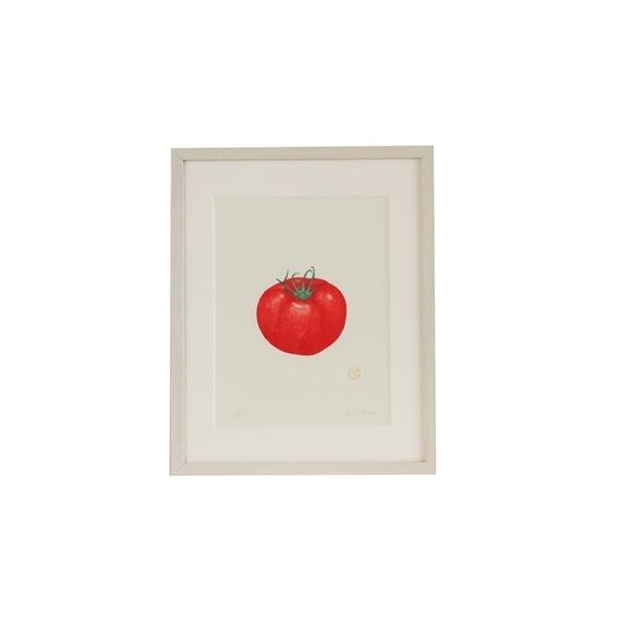 【写真】彦坂木版工房「トマト」