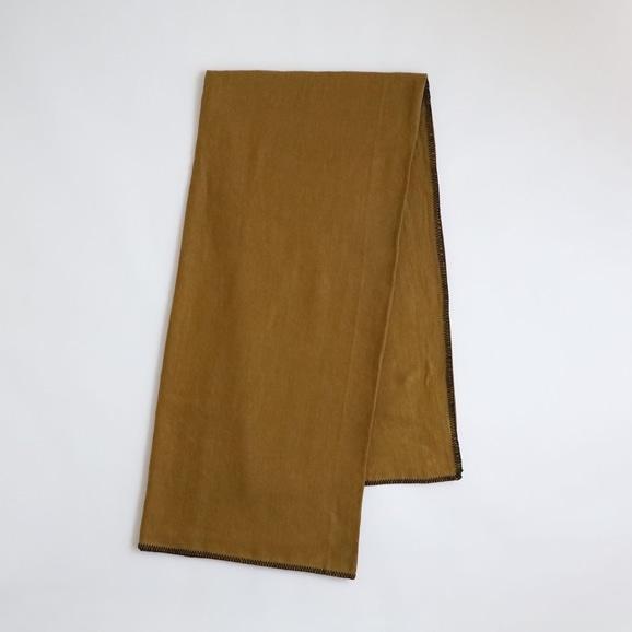 【写真】Harmony textile テーブルクロス 170×170 ブロンズ