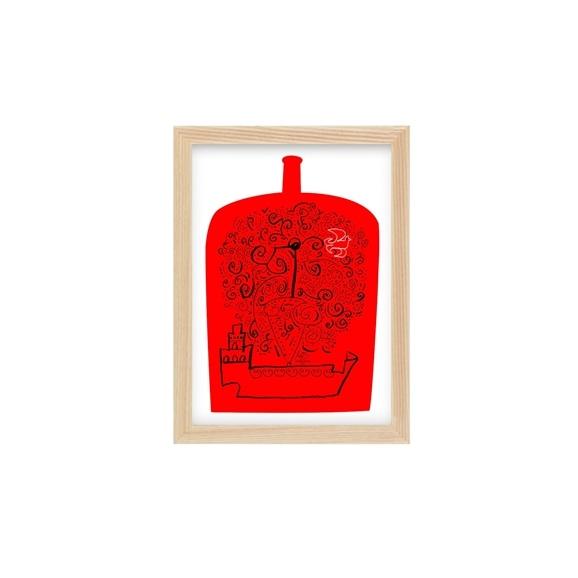 【写真】【定番品】遠山敦 「ship in a bottle 1」