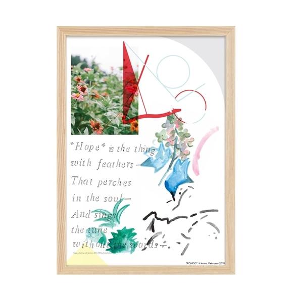 """【写真】【定番品】kvina 「""""Hope"""" is」"""