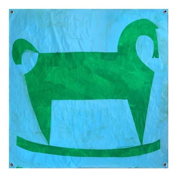 【写真】【一点物】遠山敦 「Green Horse」