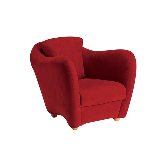 【写真】MINI MILLER ARM CHAIR Red
