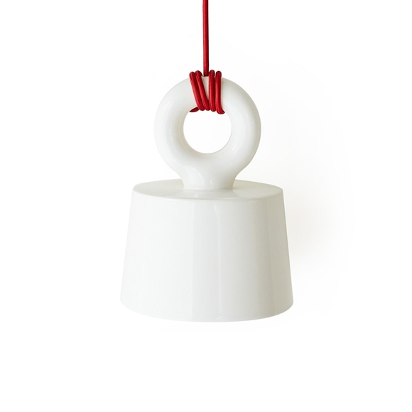 【写真】【数量限定】MOLLE SHADE CEILING LAMP Red Cord