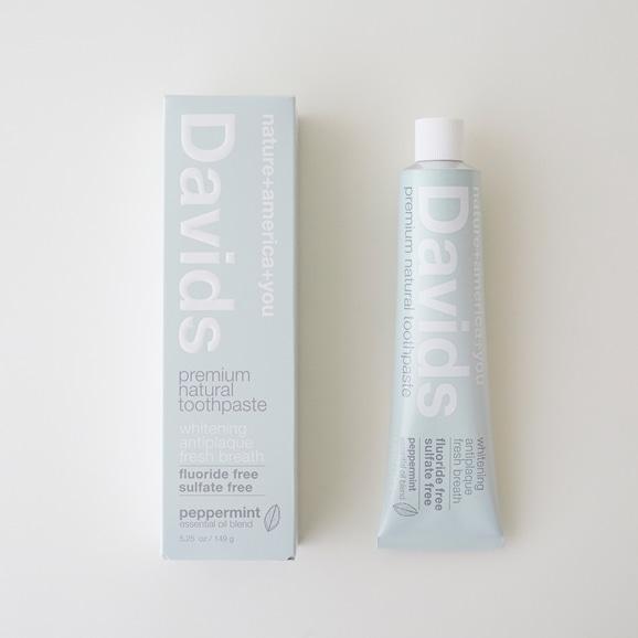 【写真】Davids ホワイトニング トゥースペースト ペパーミント