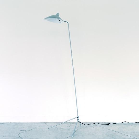 【写真】LAMPADAIRE 1 LUMIERE Silver /Serge Mouille
