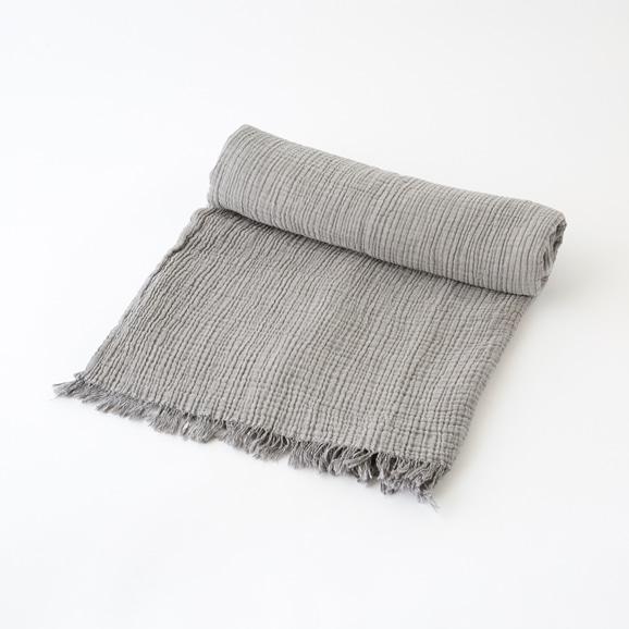 【写真】BARiNE Cocoon スローケット 130×170 DK.GREY