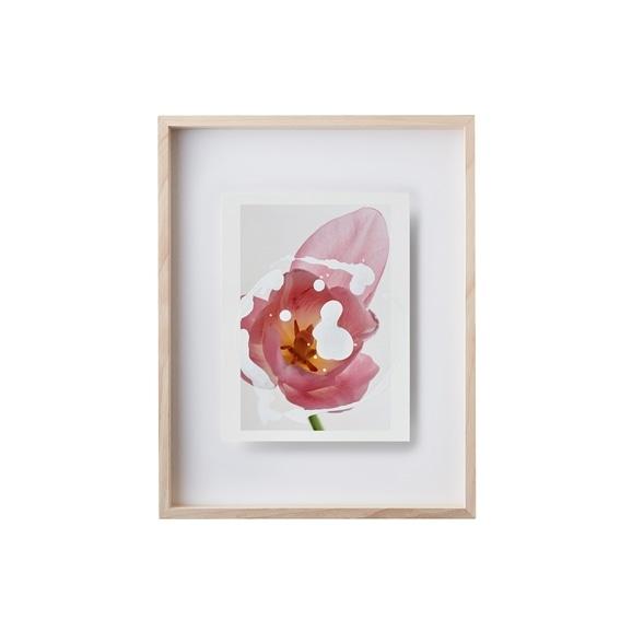 【写真】【一点物】安田奈緒子×林雅之 Sサイズ「Over Lap 007 Tulipa」