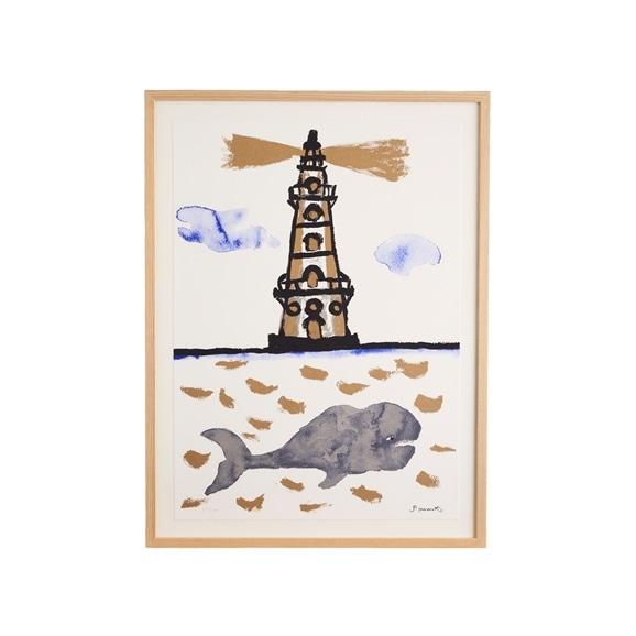 【写真】柚木沙弥郎 「灯台とくじら」